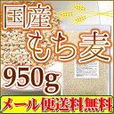 国産 もち麦 950g 注目商品(メール便 送料無料 もち麦)「1kgから変更」...