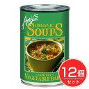 ベジタブルバーリー・スープ 400g (Vegetable Barley Soup) ×12個セット - アリサン