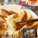 五味八珍 浜松餃子 ギフトセット 14個×4P 56個 [産地直送/クール便冷凍