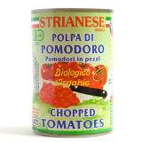 有機トマト缶 カット 400g - アルマテラ