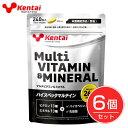 ケンタイ マルチビタミン&ミネラル 600mg×240粒×6個セット - 健康体力研究所 (kentai)