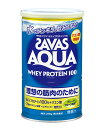 ザバス(SAVAS)アクアホエイプロテイン100グレープフルーツ378g- 明治