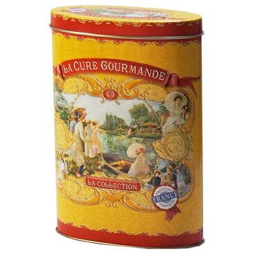 [数量限定 在庫一掃セール] ラキュール グルマンド トラディッショナルヌガー イエローオーバル缶 賞味期限2019年4月30日 - エムジーワールド