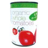 オーガニックトマト ホール缶 400g - むそう商事