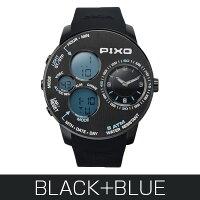 腕時計PX-5BLACK+BLUE【PIXO】