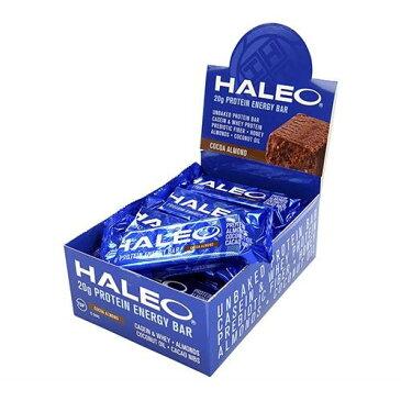 HALEO(ハレオ) ノンベイクプロテインバー ココアアーモンド 12本セット - ボディプラスインターナショナル
