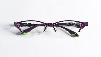 [エヴァンゲリオンメガネEVA初号機]ブルーライトカットコラボメガネ父の日母の日プレゼントギフト男女兼用ブルーライトUVカットPCメガネパソコンメガネPC眼鏡