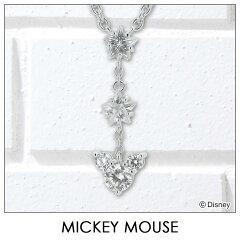 【ディズニー】 ネックレス Disney ディズニー ミッキーマウス シルバー ジュエリー アクセサリー レディース ペンダント ネックレス VPCDS20022 ミッキー 【Disneyzone】【RCP】 レビューを書いて【送料無料】【はこぽす対応商品】
