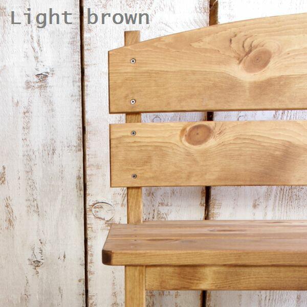 はーとぼっくす工房『木製ガーデンベンチパイン材』