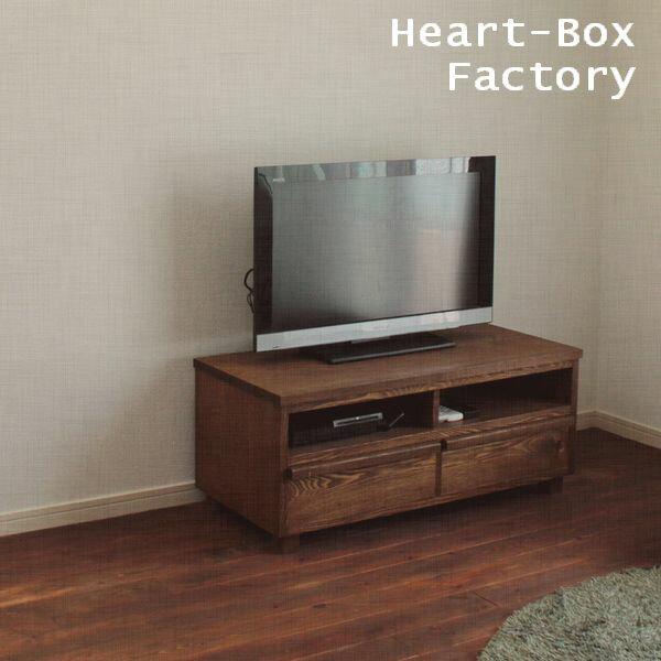 テレビボード 幅100cm コンパクト 木製 タモ材 全2タイプ テレビ台 TVボード AVボード テーブル おしゃれ 北欧家具 新生活