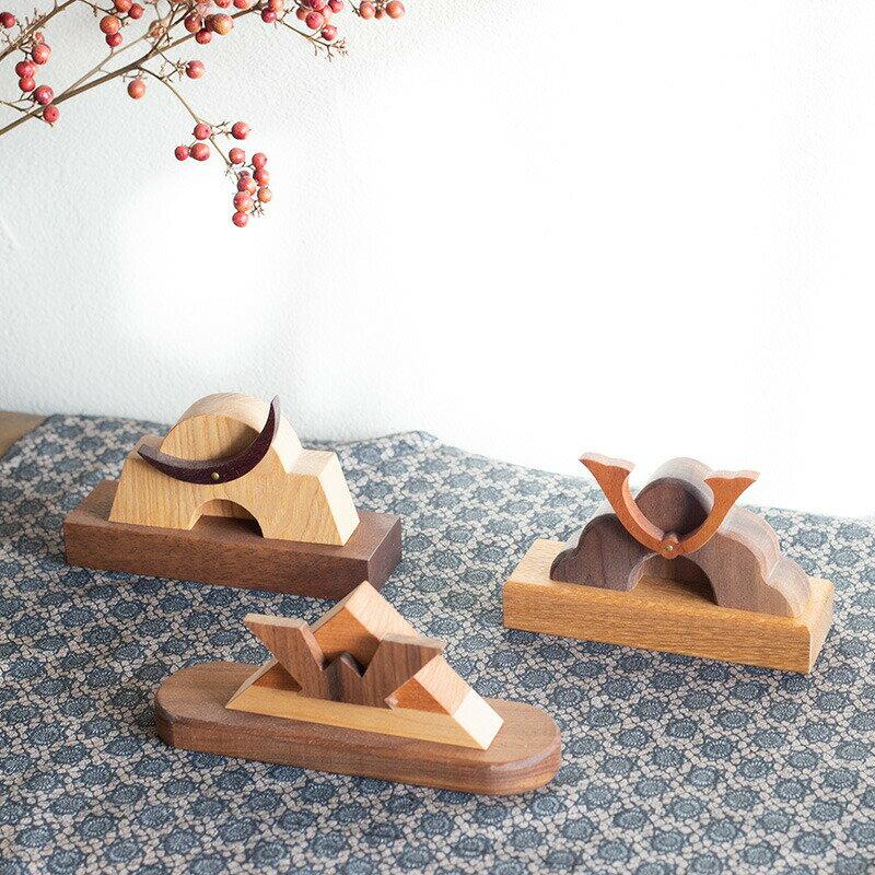 兜 木製 2021年3月中旬より順次お届け【限定販売】送料無料 兜 おしゃれ 木製 コンパクト