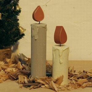キャンドル クリスマス デコレーション ろうそく オブジェ インテリア パーティー