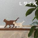 【月間MVP受賞】キャット Lサイズ(全3色) 木製 猫 ねこ シルエット送料無料 インスタ映え