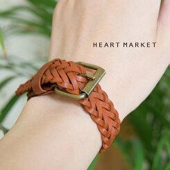 革ブレスレットC/CH小物/アクセサリー/ブレスレット【HEARTMARKET・ハートマーケット】
