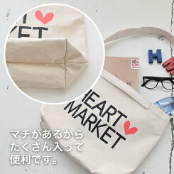 キャンバスショルダーバックレディース/小物/バッグ/ショルダー/キャンバス【HEARTMARKET・ハートマーケット】