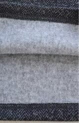 裏起毛プリント柄ガウチョレディース/ボトムス/ガウチョパンツ/ガウチョ/裏起毛/ヘリンボーン/ストライプ/秋/冬/カジュアル【HEARTMARKET・ハートマーケット】
