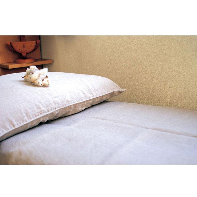 本麻枕カバー43×63cm用 日本製 本麻100%