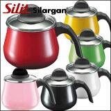 表面表面涂層【Silit公司 Silargan 玻璃帶蓋牛奶瓶】shiritto公司獨自的開發素材Silargan。[【Silit社 シラルガン ガラス蓋付ミルクポット】シリット社獨自の開発素材シラルガンを表面コーティング。]