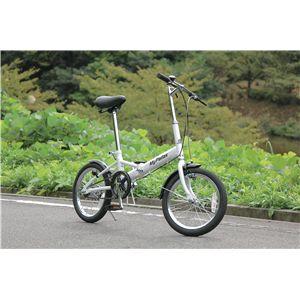 MYPALLAS(マイパラス) 折りたたみ自転車 M-101 16インチ シルバー