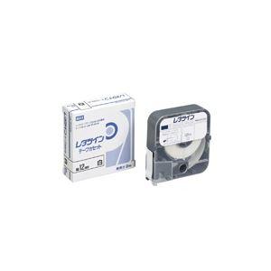 (業務用60セット)マックスレタツインテープLM-TP312W白12mm×12m【×60セット】