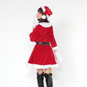 c397d5fb601f6 ... クリスマスコスプレ衣装まとめ買い5着セット Peach×Peachレディースラブリーサンタクロースサンタ ...
