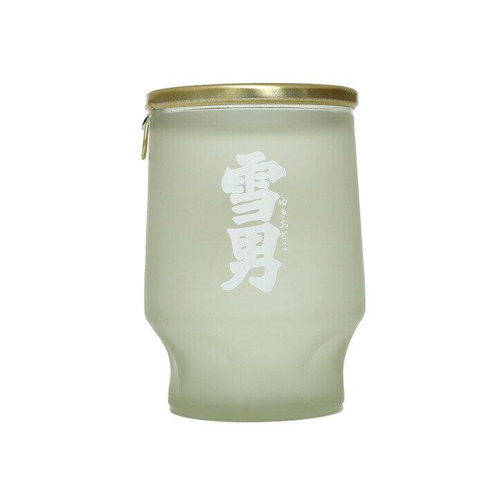 青木酒造鶴齢雪男純米酒カップ酒180ml4994975102073