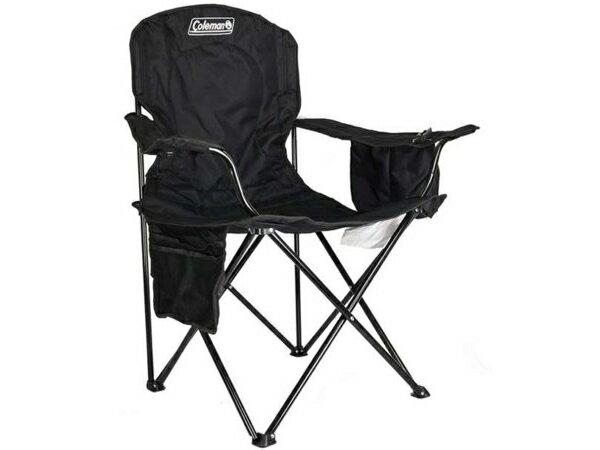 Coleman コールマン アウトドア・チェア (ブラック) クーラーバッグ付き折りたたみ椅子