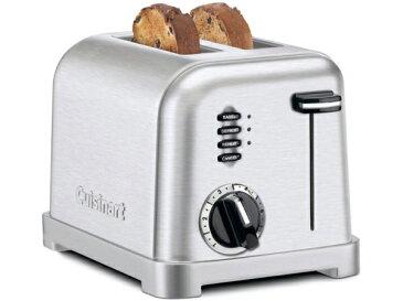 【2年保証】 Cuisinart クイジナート メタルクラシック・トースター 2枚焼き (艶消しクロム) CPT-160