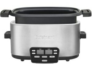 【2年保証】Cuisinartクイジナート3in1マルチ・スロークッカー5.7リットルMSC-600焼く・蒸す・煮込む(スロークック)の1台で3役