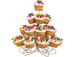 Wilton ウィルトン 4段デザート・ディスプレイスタンド Mサイズ23個分のカップケーキが飾れます♪