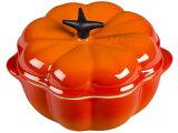 Le Creuset ル・クルーゼ プチ・パンプキン・キャセロール (オレンジ) 陶器製ミニ・パンプキン 12oz ルクルーゼ