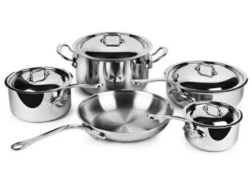 Mauviel ムヴィエール 5 Ply ステンレス・クックウェアー5点セット M'cookシリーズ ステンレス・スチール
