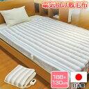 【在庫有り】【日本製】 電気掛敷兼用毛布 ダブルサイズ (1