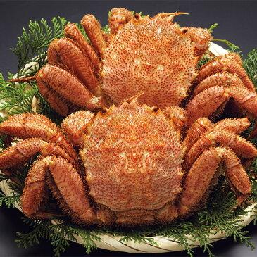 北海道産ボイル毛がに2尾700g