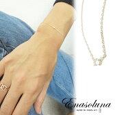 Enasoluna(エナソルーナ) BeBe dia bracelet 予約【EN-BS-1182】ダイヤモンド 18金 18K