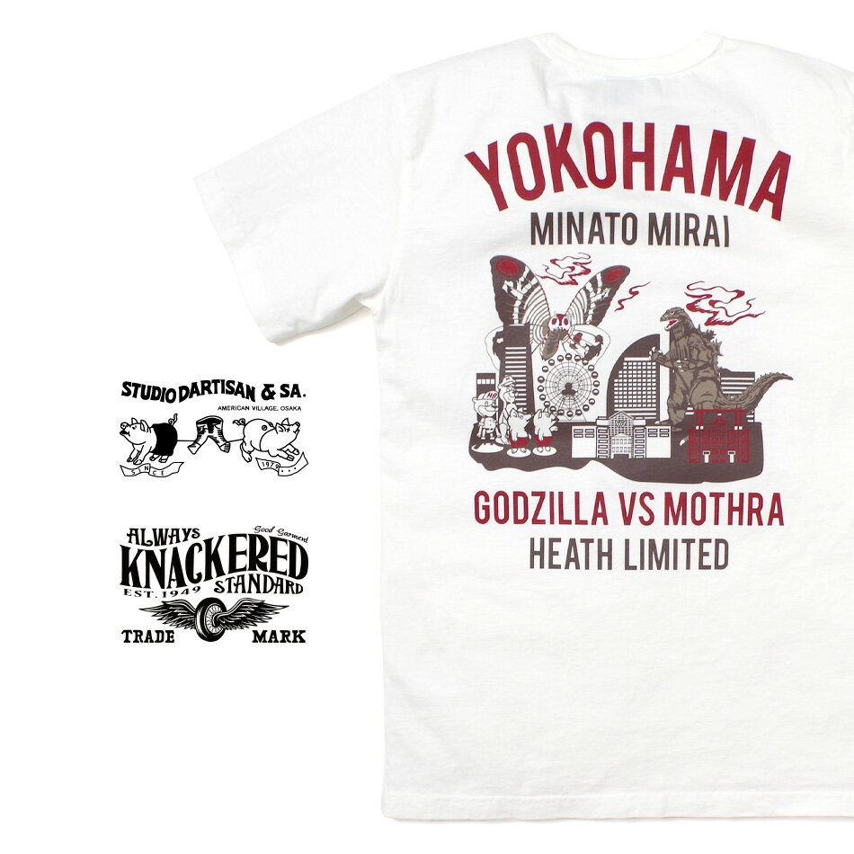 トップス, Tシャツ・カットソー t GODZILLA STUDIO DARTISAN 2XL HEATH.