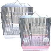 [鳥かご]465インコ手乗り/鳥カゴ 鳥籠 バードケージ 鳥小屋 セキセイインコ オカメインコ ケージ ゲージ 鳥がごホワイト 鳥かごピンク 鳥かごブラック 465インコ手乗り