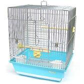 [鳥かご]101角手乗り/鳥カゴ 鳥籠 バードケージ 鳥小屋 文鳥 ケージ ゲージ 鳥かごピンク 鳥かごブルー 101角手乗り