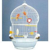 [鳥かご]バードケージ バリ/鳥カゴ 鳥籠 バードケージ 鳥小屋 セキセイインコ オカメインコ ケージ ゲージ 鳥がごホワイト バードケージバリ