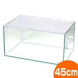 450ハムスター<LOW>【一度のご注文で2個まで】/水槽 ケージ ゲージ 飼育ケース オールガラス 透明 ハムスター ジャンガリアン カメ
