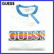 L ブルー BLUE【A$AP ROCKY x GUESS ORIGINALS エイサップ ロッキー x ゲス オリジナルス SS UNISEX RINGER TEE ユニセックス リンガー Tシャツ 2017SS ASAP GUE$$】