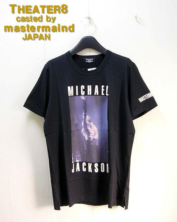 トップス, Tシャツ・カットソー S BLACKTHEATER8 casted by mastermind JAPAN MICHAEL JACKSON TEE T 8MMJ-TS02-B