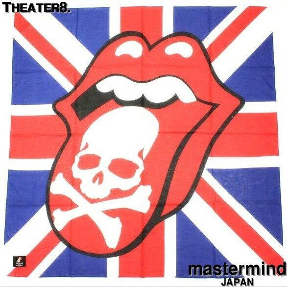 マフラー・スカーフ, レディースマフラー・ストール Theater8. casted by mastermind JAPAN The Rolling Stones . SKULL 8LR-ZST01