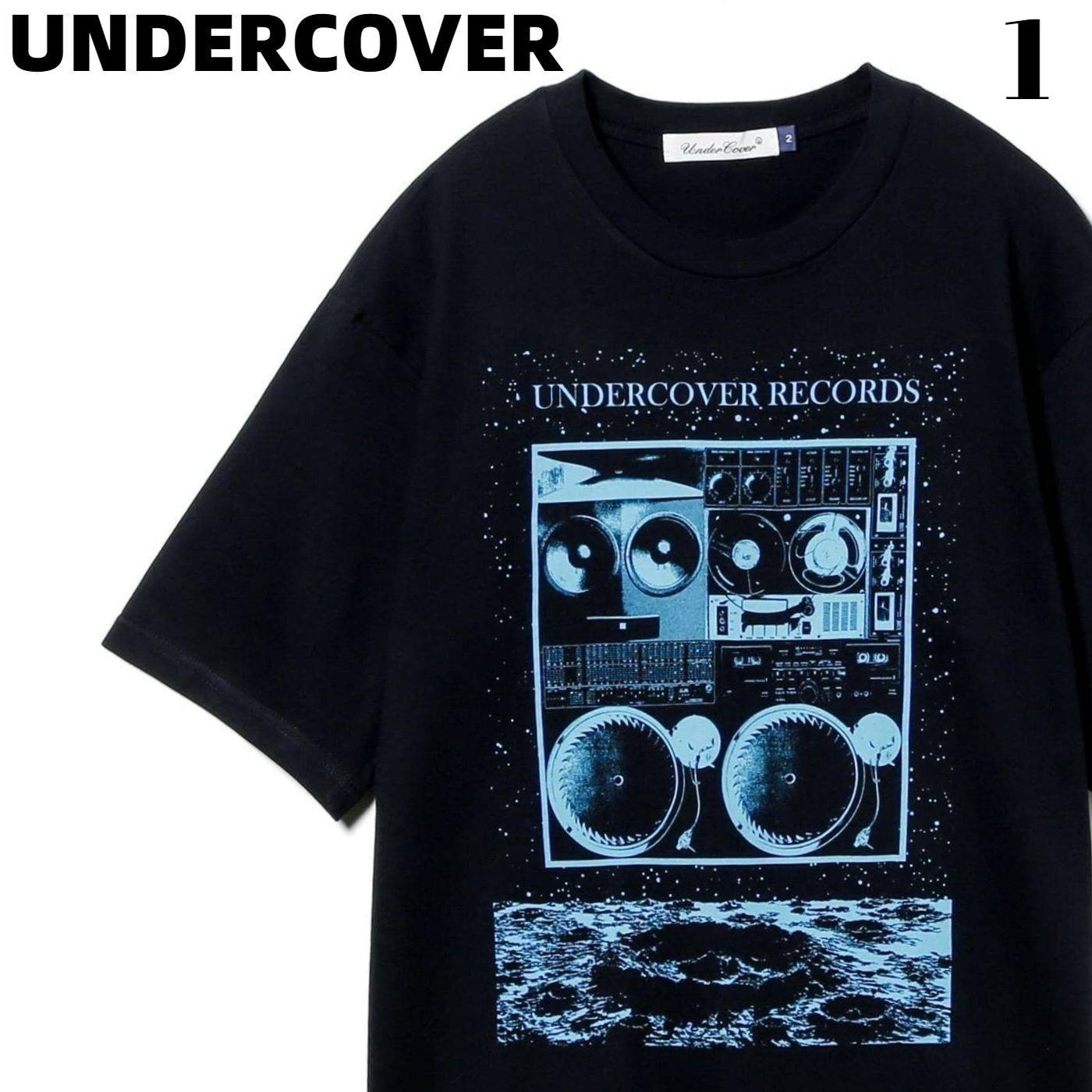 トップス, Tシャツ・カットソー 1 C.BLACKUNDERCOVER MOON UC RECORDS Tee UC1A3803 T Under Cover