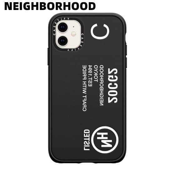 スマートフォン・携帯電話アクセサリー, ケース・カバー BLACKNEIGHBORHOOD NHCT . ID P-IPHONE 11 CASE CASETiFY 201CGCYN-AC04S iPhone 11