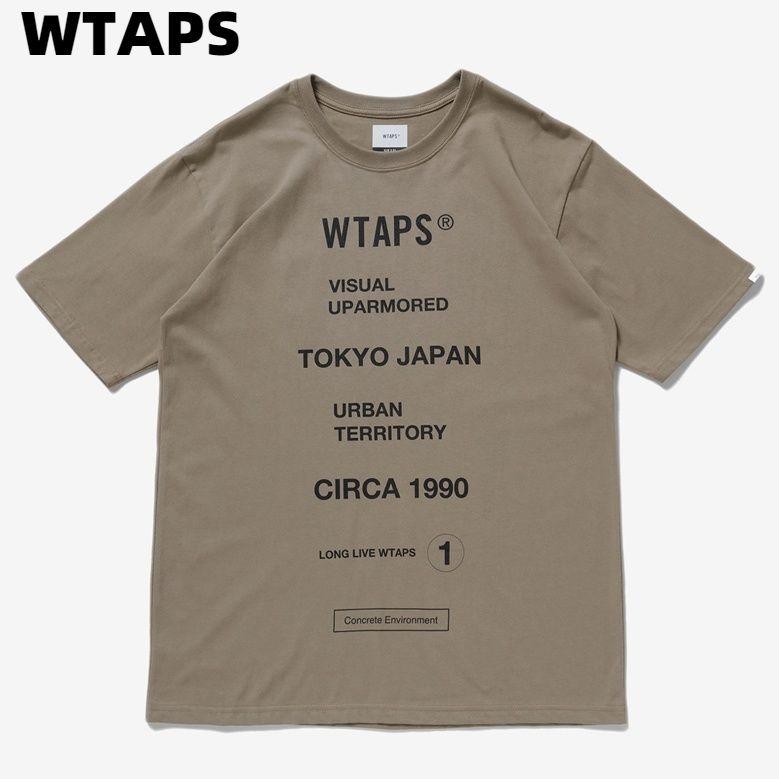 トップス, Tシャツ・カットソー MWTAPS CIRCA Tee STYLE NO. 201PCDT-ST06S BEIGE CIRCA T