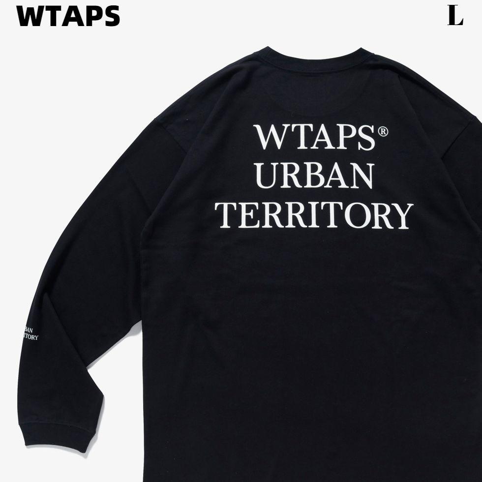 トップス, Tシャツ・カットソー LWTAPS 21ss URBAN TERRITORY LS Tee 211ATDT-LT02S T T BLACK 2021ss W)taps