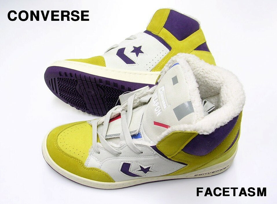 メンズ靴, スニーカー 8 (26cm) YELLOW 30 FACETASM x CONVERSE WEAPON HIFC x (xx)NO HR-SHO-CO01