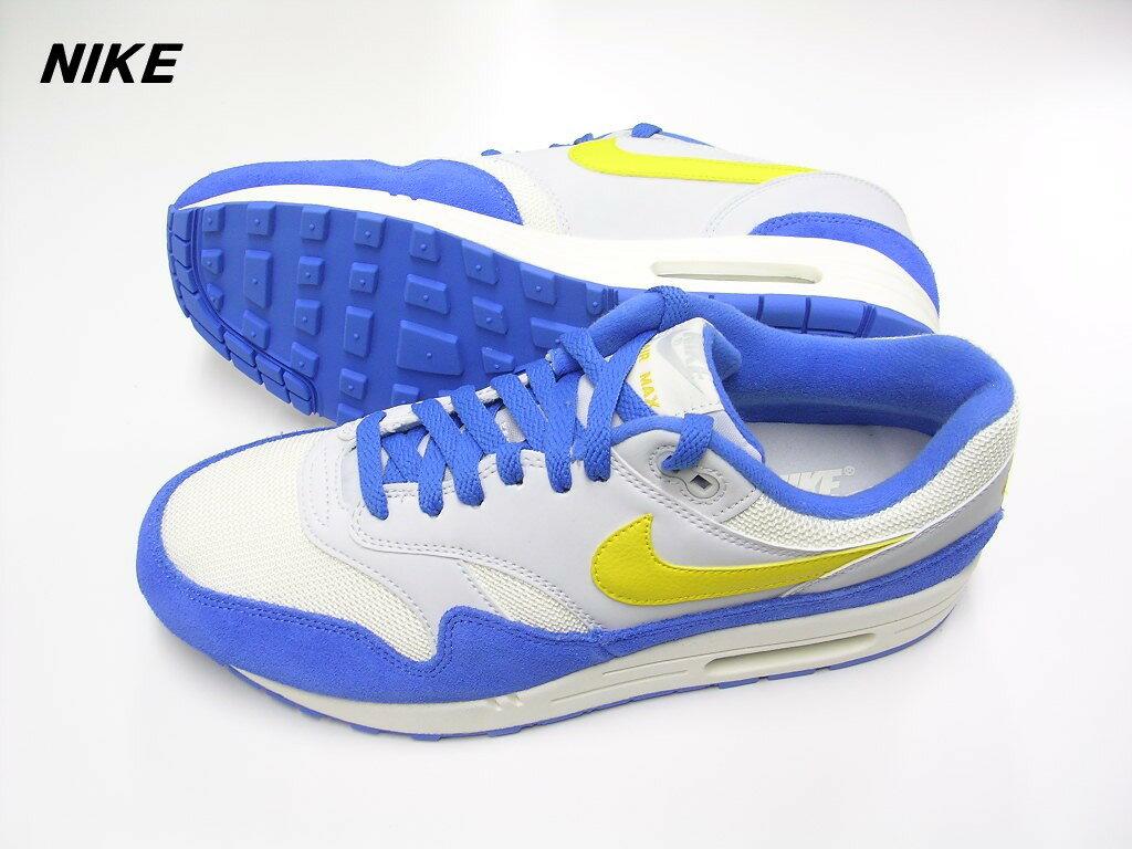 separation shoes 59c87 68c0a 9 (27cm) NIKE AIR MAX 1 AH8145-108 SAIL AMARILLO-PURE PLATINUM-SIGNAL BLUE  ナイキ エア マックス 1