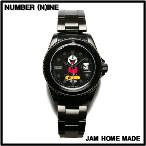 ORIGINAL COLOR【NUMBER (N)INE [ナンバーナイン] x JAM HOME MADE [ジャムホームメイド] Disney MICKEY WATCH ミッキー腕時計 TYPE-A】NJWD-WT001